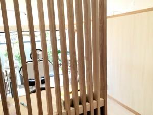 2015年1月6日撮影。ハヤリの半個室、ってヤツだ。