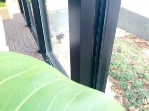 あたたかい院内のための工夫。二重窓。