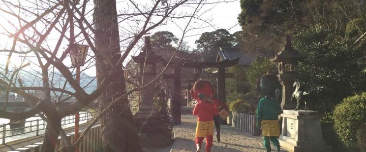 (2015年)2/3伊万里神社節分祭に行ってきました(*´▽`*)