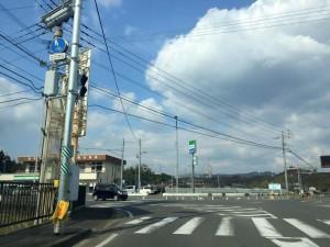 南波多町水留交差点 撮影:井川歯科