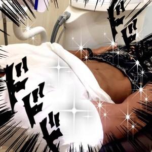 井川歯科×筋肉かき氷マン ホワイトニング (9)