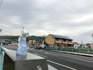 伊万里ハーフマラソン スタート地点 201612井川歯科広報撮影 4