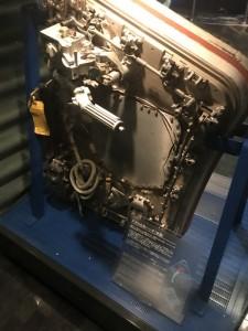 アポロ6号のハッチ